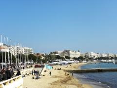 Hôtel Carlton -  Cannes sea front.