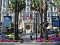 Hôtel Carlton -  Cannes, Boulevard de la Croisette