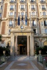 Hôtel Carlton - Français:   Hôtel Carlton, Cannes, PACA, France