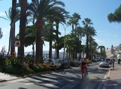 Hôtel Carlton - English: La Croisette boulevard, in the city of Cannes in the Alpes-Maritimes, France.