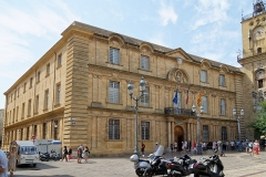 Hôtel de ville - Deutsch: Rathaus von Aix-en-Provence, Hauptfassade