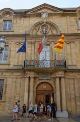 Hôtel de ville - Deutsch: Rathaus von Aix-en-Provence, Eingang