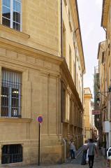 Hôtel de ville - Deutsch: Rathaus von Aix-en-Provence, Westfassade