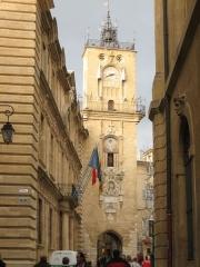 Hôtel de ville - English: Hôtel de Ville à Aix-en-Provence, France.