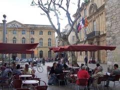 Hôtel de ville -  Hôtel de Ville d'Aix en Pce