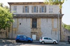 Pavillon de Vendôme (ou de la Molle) - Deutsch: Pavillon Vendôme in Aix-en-Provence, Straßenfassade