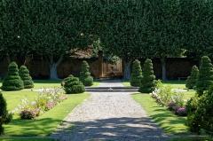 Pavillon de Vendôme (ou de la Molle) - Deutsch: Garten des Pavillon Vendôme in Aix-en-Provence