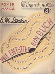 Tuilerie des Milles, ancien camp d'internement - Deutsch: Emmanuel Kirz Edwin Maria Landau Wie entsteht ein Buch