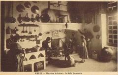 Ancien collège des Jésuites et ancien hôtel de Laval-Castellane, actuellement musée d'art chrétien et Museon Arlaten - Salle calendale du Museon Arlaten