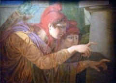 Ancienne commanderie de Malte, actuellement musée Reattu - French painter student of Jean-Antoine Julien, student of Jean-Baptiste Regnault