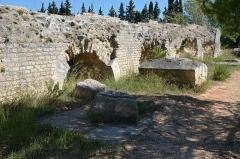 Aqueduc de Barbegal -  Barbegal aqueduct and mill, France
