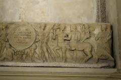 Abbaye Saint-Victor - English: Crypt of Saint-Victor: sarcophagus of Julia Quintina, 2nd century