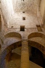 Abbaye Saint-Victor - Deutsch: Abtei Saint-Victor in Marseille, Atrium in der Krypta