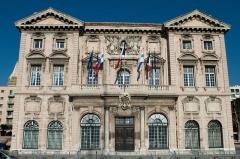 Hôtel de ville - English: The town hall of Marseille, Bouches-du-Rhône (France).