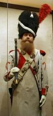 Château de l'Empéri - English:   French pionneer of the 23rd Line infantry régiment in Emperi museum (Salons de Provence - France)