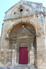 Chapelle et Tour Saint-Gabriel - Deutsch:   Die Westwand der Kapelle Saint Gabriel