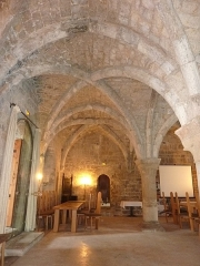 Abbaye - English: Chapter House of Abbaye de La Celle