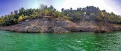 Aqueduc antique (restes de l') - l'aqueduc remanié, à la pointe de Gavolone