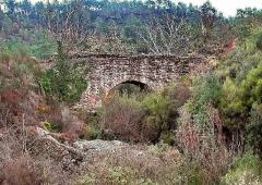 Aqueduc antique (restes de l') - Pont de Jaumin (amont Malpasset)