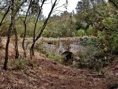 Aqueduc antique (restes de l') - Pont de Magail (aval Malpasset)