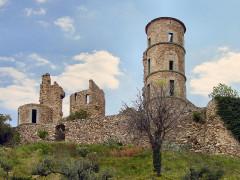 Vestiges du château -  Grimaud Zamek