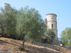Vestiges du château -  Grimaud, Var, France   Le Château. 5 juillet 2006   Author: civodule