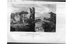 Vestiges du château - This picture as been uploaded as part of L'Été des régions Wikipédia.