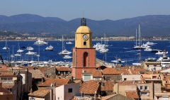 Eglise - English: Saint Tropez, the church tower