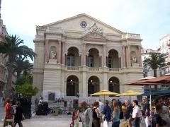 Théâtre-Opéra -  Vue de l\'opéra de Toulon