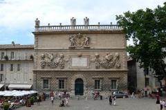 Hôtel des Monnaies - Deutsch: Das Barockgebäude Hotel des Monnaies in Avignon