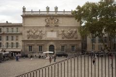 Hôtel des Monnaies - English: Avignon; L'Hôtel des Monnaies; Provence-Alpes-Côte d'Azurn, Var et Vaucluse; France; The stock exchange L'Hôtel des Monnaies. Façade.; photo: Paul M.R. Maeyaert; pmrmaeyaert@gmail.com; www.pmrmaeyaert.eu; Ref: PM_107926_F_Avignon.jpg