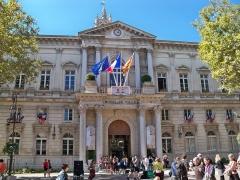 Hôtel de ville - English: Avignon's town hall