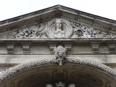 Théâtre municipal -  Avignon-Theatre-Opera-1846-1847 anstelle des alten abgebrannten Theaters von den Architekten Leon Feucheres&TheodoreCharpentier errichtet 4.