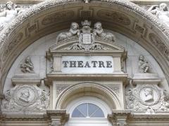 Théâtre municipal -  Avignon-Theatre-Wirkungsstätte des Theaterdichters & Schauspielers der klassischen frz. Komödie Moliere 1622-1673 &Pierre Corneille-bedeutender Dramatiker
