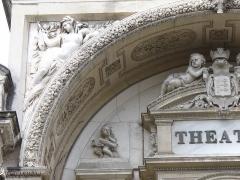 Théâtre municipal -  Avignon-Wirkungsstätte des Theaterdichters & Schauspielers der klassischen frz. Komödie Moliere 1622-1673 &Pierre Corneille-bedeutender Dramatiker 1.