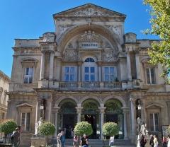 Théâtre municipal - English: city theater of Avignon, Vaucluse, France