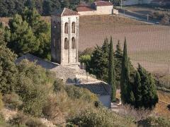Chapelle de Notre-Dame-d'Aubune - Français:   Chapelle Notre-Dame d\'Aubune côté Nord