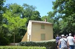 Château du Martinet - Français:   Chateau du Martinet - Jardin maison techinque