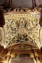 Ancienne cathédrale, puis église paroissiale Saint-Véran - Français:   Détail du plafond de la chapelle Saint-Véran dans la cathédrale de Cavaillon