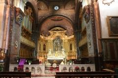 Ancienne cathédrale, puis église paroissiale Saint-Véran - Français:   Vue du chœur et de l\'abside de la cathédrale de Cavaillon. Au fond retable avec cinq toiles de Nicolas Mignard. Dans le choeur à gauche l\'orgue réel et à droite l\'orgue factice.