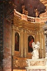 Ancienne cathédrale, puis église paroissiale Saint-Véran - Français:   Retable du chœur de la cathédrale de Cavaillon, partie gauche avec toile de Nicolas Mignard représentant saint Pierre et saint Paul de Tarse