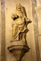 Ancienne cathédrale, puis église paroissiale Saint-Véran - Français:   Statue en bois du XVIIIe siècle dans la chapelle de la Vierge de la cathédrale de Cavaillon.