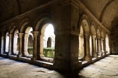 Ancienne cathédrale, puis église paroissiale Saint-Véran - Français:   Cloître de la cathédrale de Cavaillon