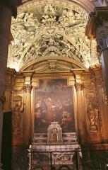 Ancienne cathédrale, puis église paroissiale Saint-Véran - Chapelle Saint-Véran avec tableau de Pierre Mignard représentant saint Véran et le dragon.