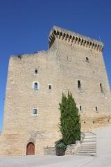 Château - Deutsch: Schloss in  Châteauneuf-du-Pape