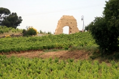Château - English: Spring at Châteauneuf-du-Pape