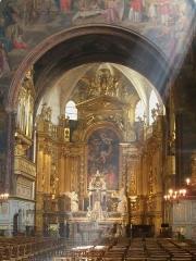 Eglise paroissiale Notre-Dame-des-Anges - Français:   Nef de Notre Dame des Anges à L\'Isle sur la Sorgue (84)