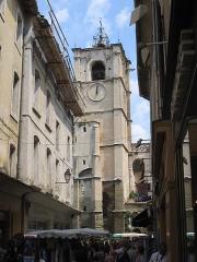 Eglise paroissiale Notre-Dame-des-Anges -  village L\'Isle sur la Sorgue, Vaucluse, june 2005