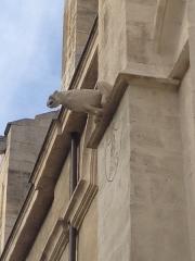 Eglise paroissiale Notre-Dame-des-Anges - Français:   Gargouille de Église Notre-Dame-des-Anges, L\'Isle-sur-la-Sorgue