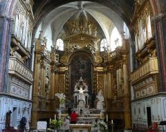 Eglise paroissiale Notre-Dame-des-Anges - Français:   Chœur vu d\'un peu plus près